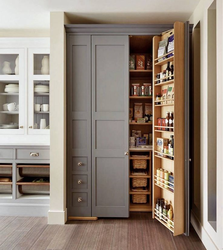 25 Sumptuous Kitchen Pantries – Old, New, Large, Small and ...