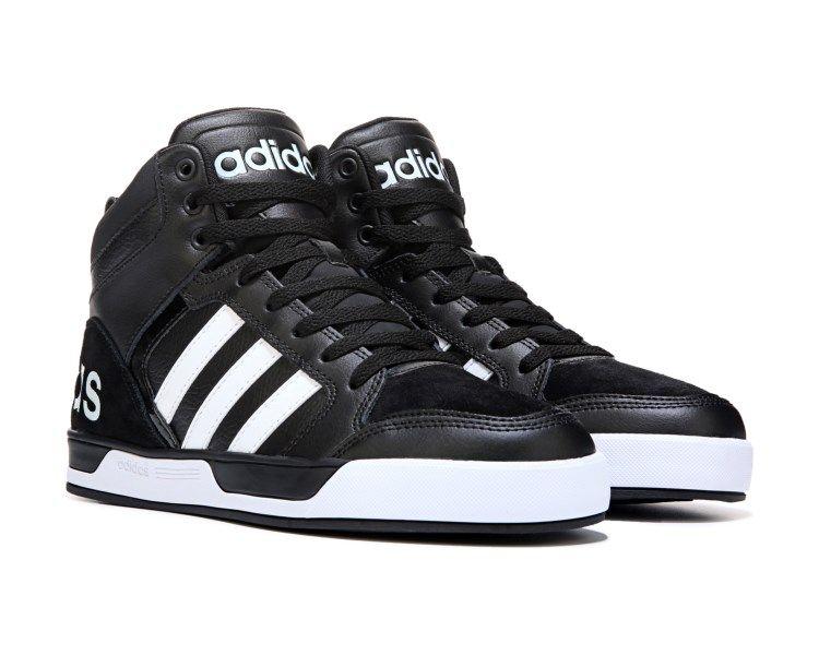 adidas Neo Raleigh 9TIS High Top Sneaker BlackWhite