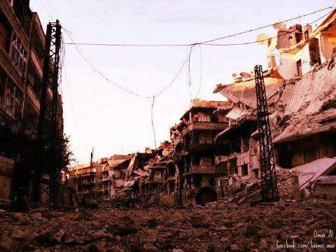 Syria Homs حمص جورة الشياح Syria