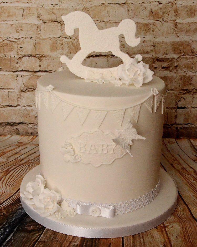 Double barrel baby shower cake pirate birthday cake