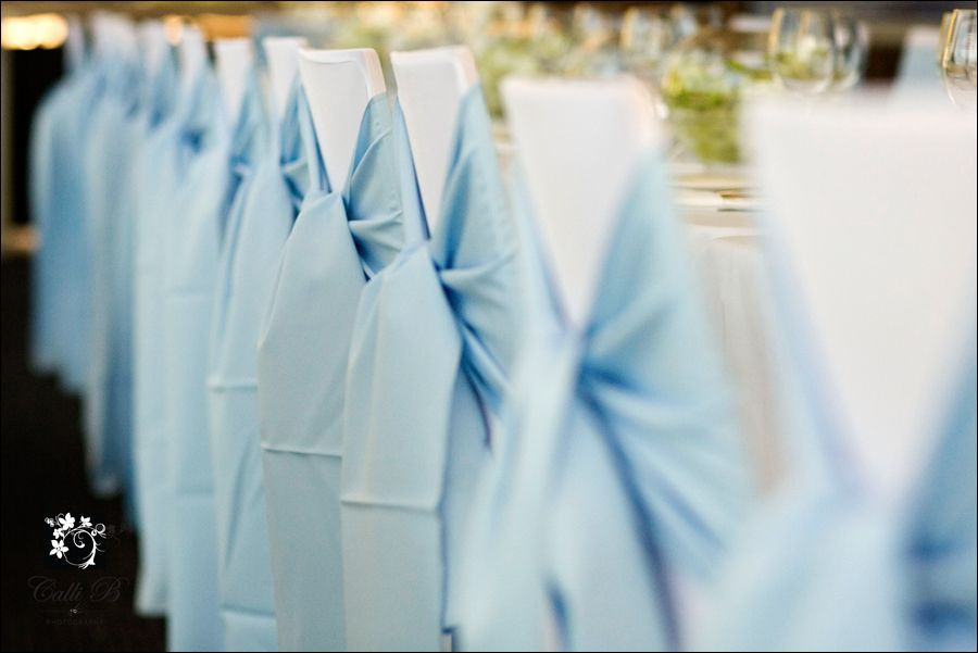 Brilliant Light Blue Chair Sashes Wedding Chairs Sky Blue Weddings Download Free Architecture Designs Sospemadebymaigaardcom