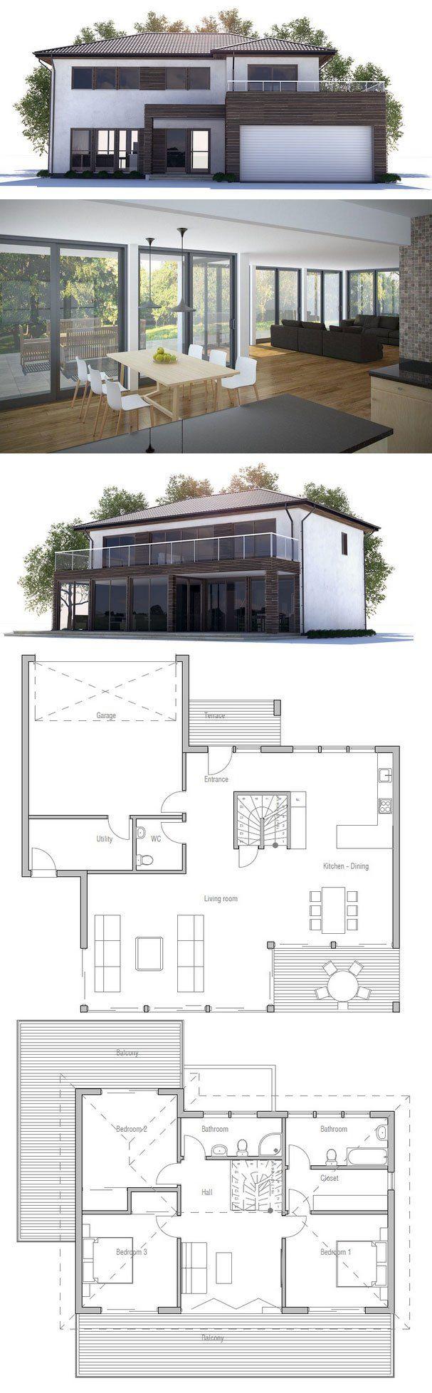 Modern Architecture House Floor Plans plan 80789pm: split level contemporary house plan | contemporary