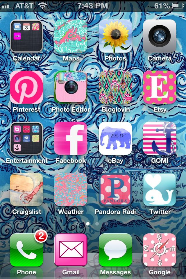 iPhone, meet lilly pulitzer! I cocoppa