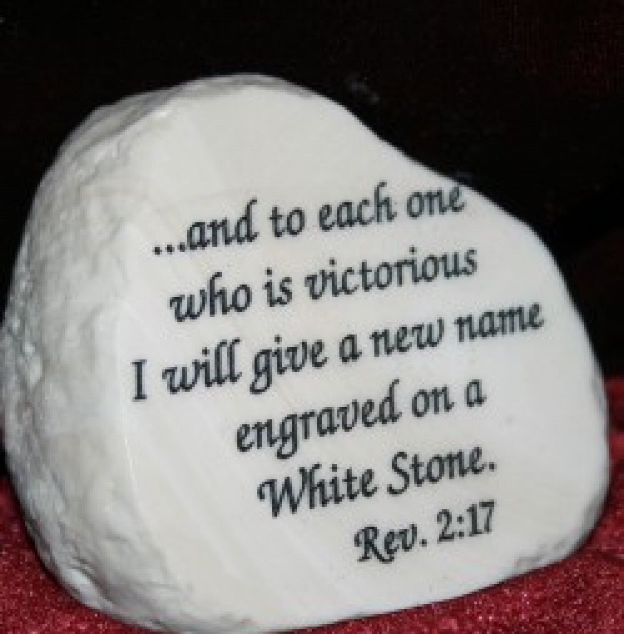 Pin by Christina Medrano on Thought for the Day | White stone, Scripture print, Cs lewis quotes