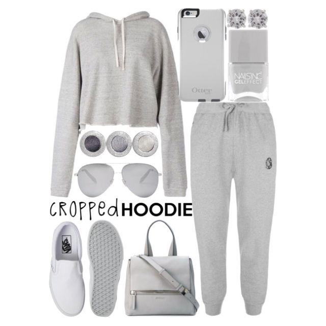 cropped hoodie by j-n-a
