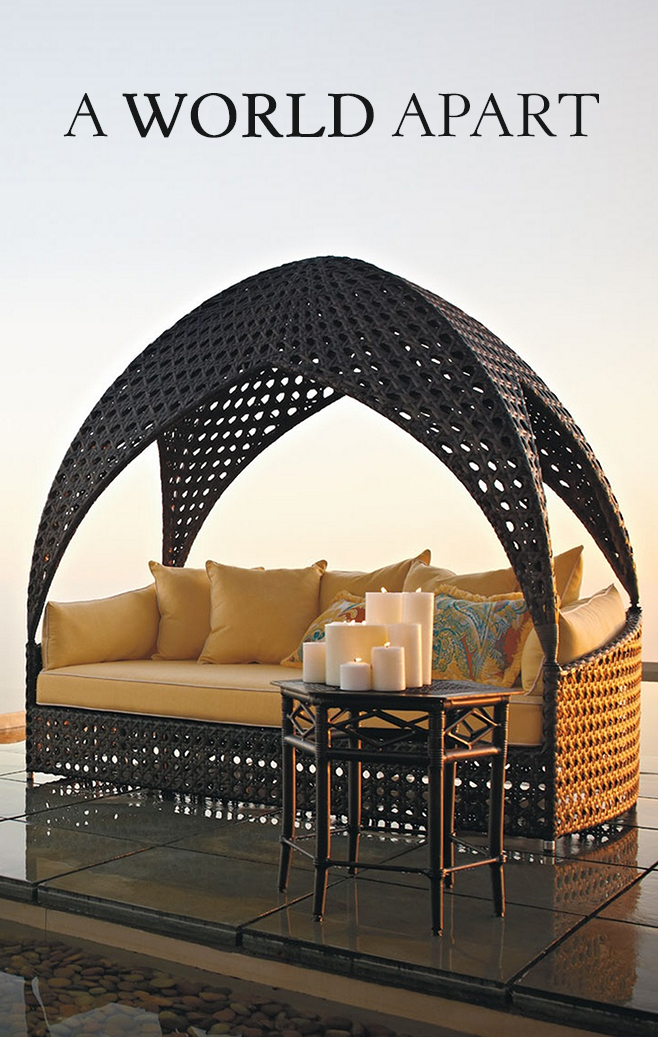Bali Daybed | Frontgate | Outdoor furniture, Outdoor ... on Living Spaces Outdoor Daybed id=44251