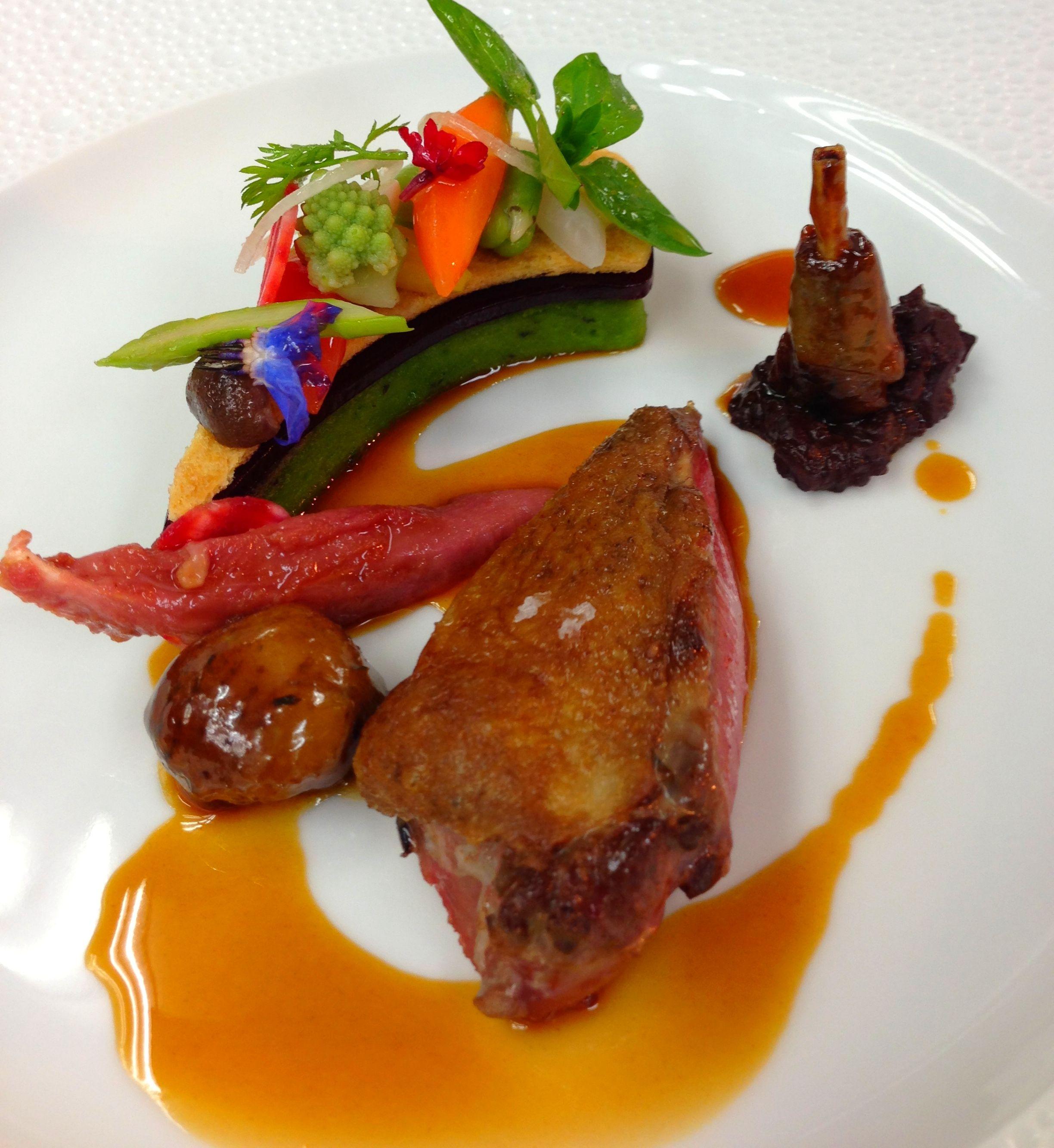 decoration assiette gastronomique - Recherche Google  Décoration