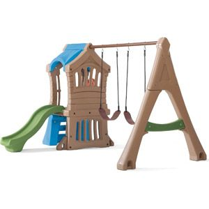 Step2 Play Up Gym Swing Set 400 At Walmart Backyard Update
