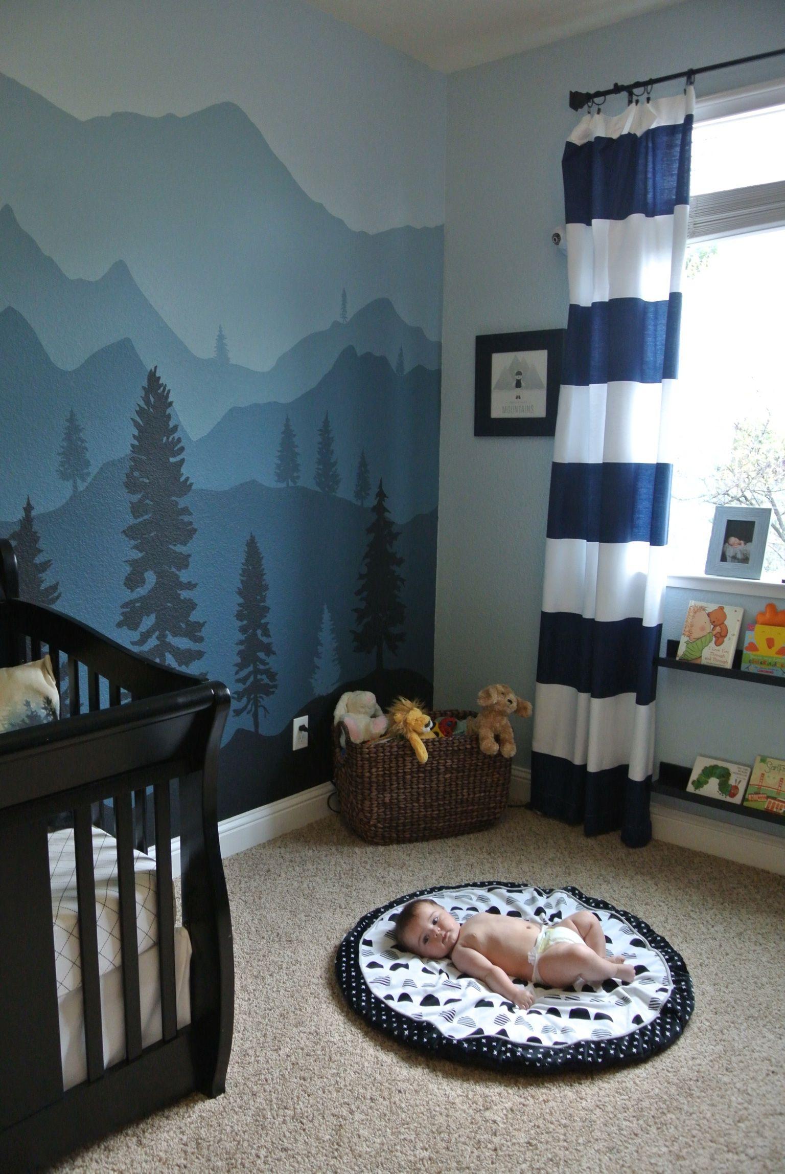 Maddox S Mountain Nursery Baby Room Baby Boy Nurseries