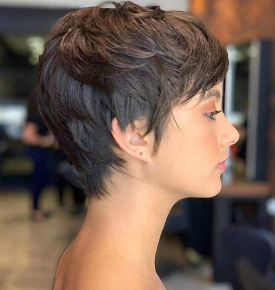 Trendy Short Pixie Haircuts for Women to Try This Year - Page 3 of 35 - Lead Hairstyles #longpixiehaircuts