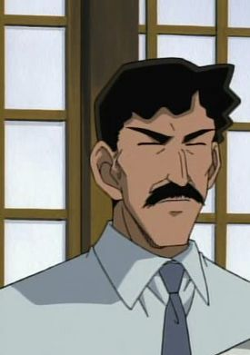 Heizo Hattori - the head police chief of the Osaka district, the father of Heiji Hattori (Detective Conan)