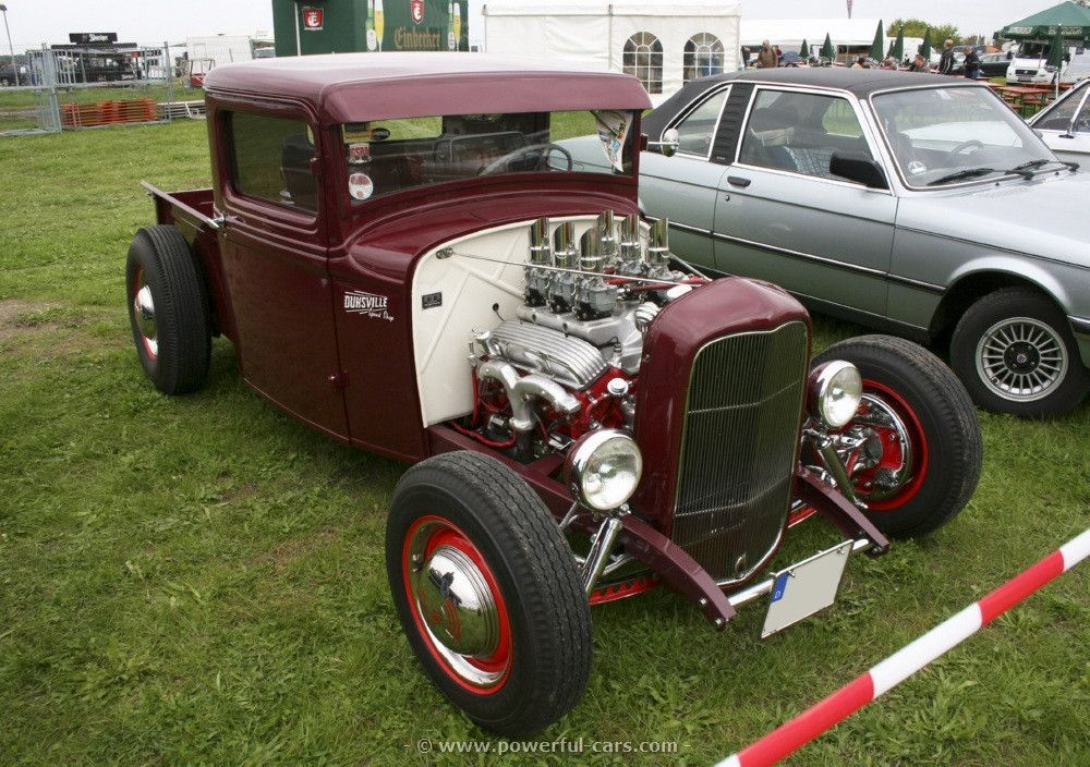 Hot Rod Drawing | ford usa 1932 model b pickup hot rod steel body ...