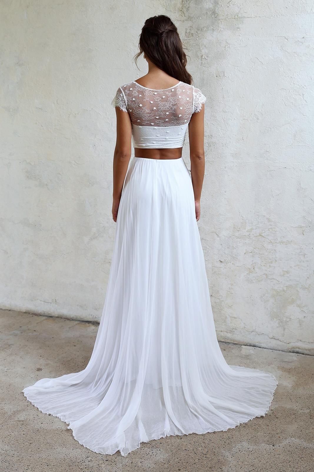 Shop Yeo in 2020 Two piece wedding dress, Sophisticated