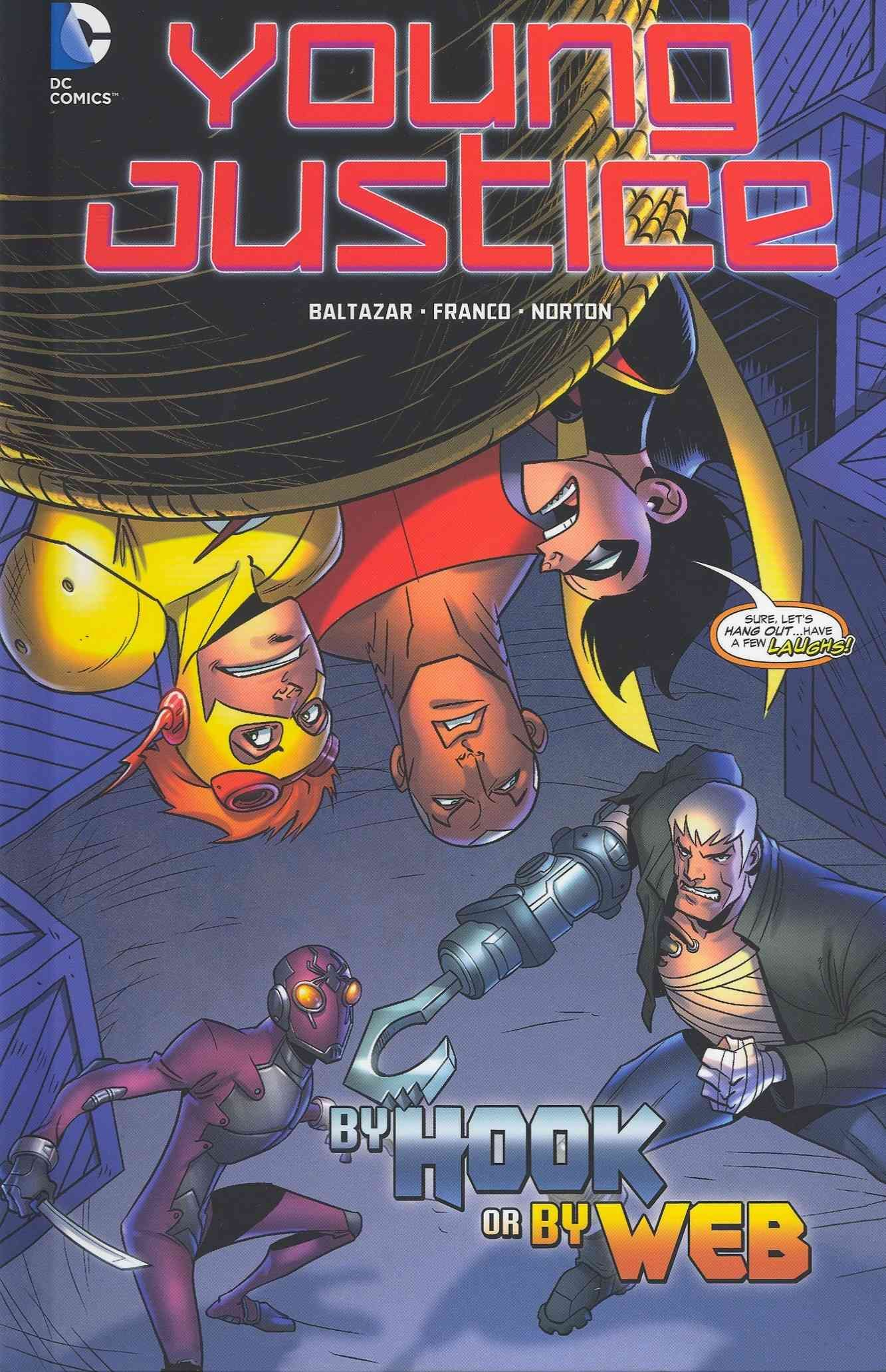Robin, Aqualad, and Kid Flash must work together to free themselves from the menace of the League of Shadows and rescue Selena Gonzalez--but things may be a little more complicated than they seem.