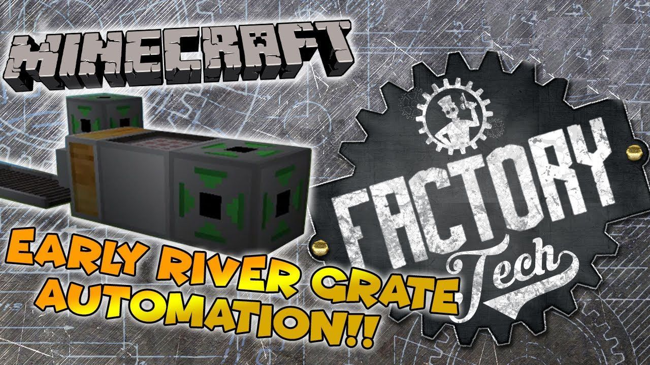 Minecraft Factory Tech Mod 1.12.2 Download Minecraft