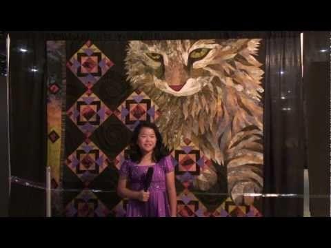 Houston Quilt Festival 2012 - Sophie Rubin - Kids Eye Review