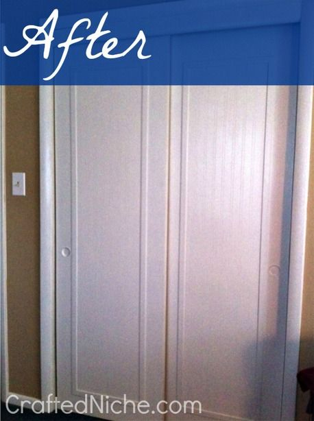 10 Easy And Diyable Closet Door Ideas Bifold Doors Makeover Door Makeover Diy Trendy Door
