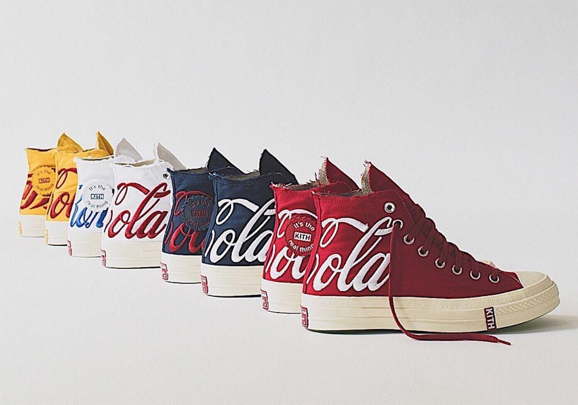 KITH x Coke x Converse Chuck Taylor collection   Buty