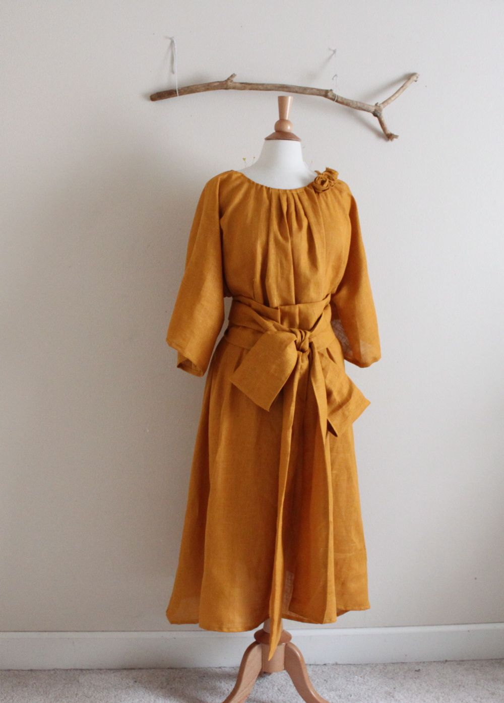 autumn gold many moods obi dress ( roses added with fee) by ...