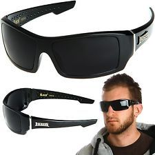 Gangsta LOCS Hardcore Shades Mens Sunglasses New Dark Lens