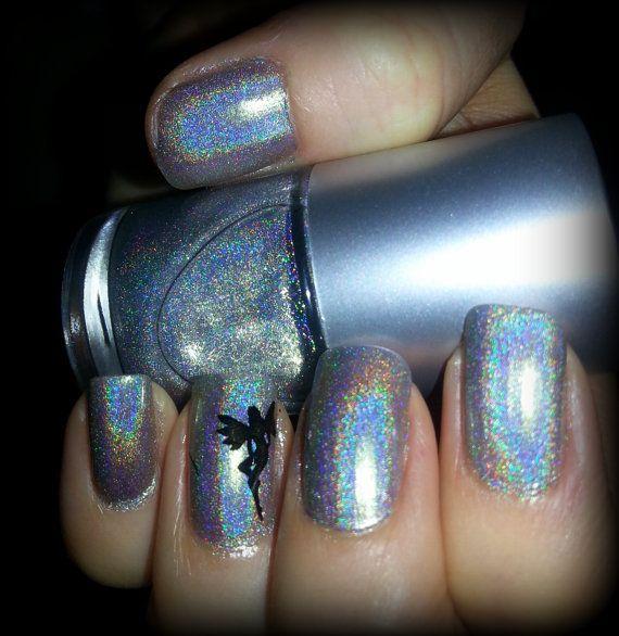 Spectrum Holographic Nail Polish: Holographic Top Coat, Spectraflair Rainbow Spectrum 5 Free