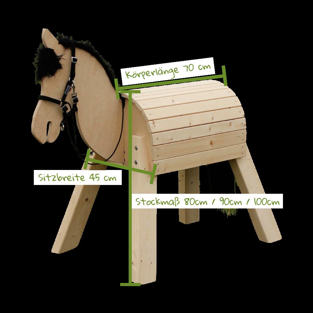 """Riesenspaß mit Mini-Pony  Mini-Pony """"Bibi"""" Mit unserem kleinen und gar nicht sturen Mini-Pony Modell """"Bibi"""" mit einem kindgerechten Stockmaß von 80/90/100 cm, können sich bereits die ganz Kleinen ab drei Jahren auf... #woodcrafts"""