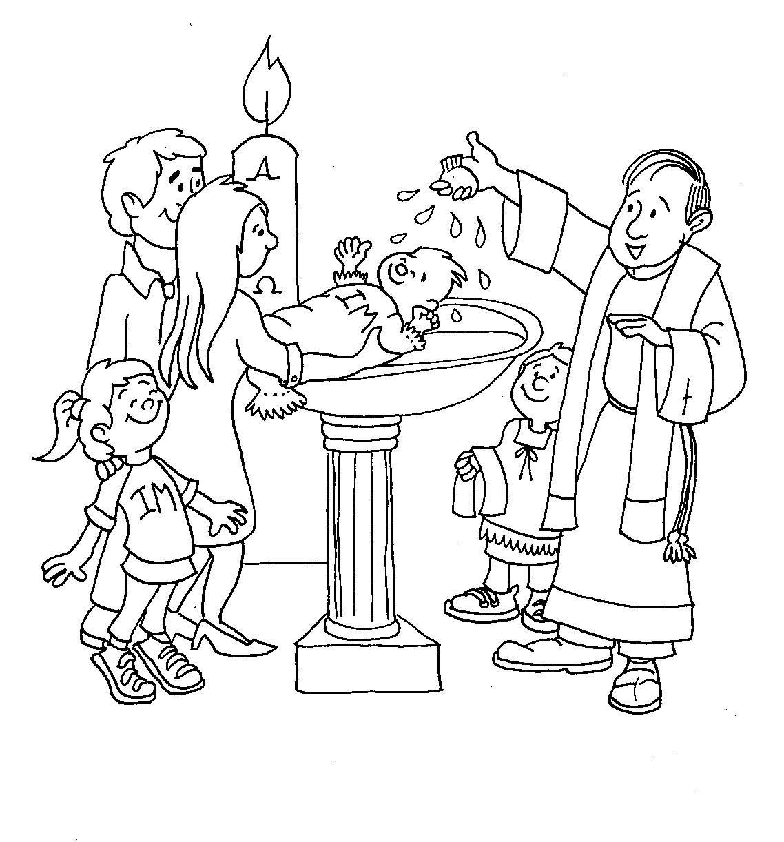 rayito de colores dibujos siete sacramentos fiestas