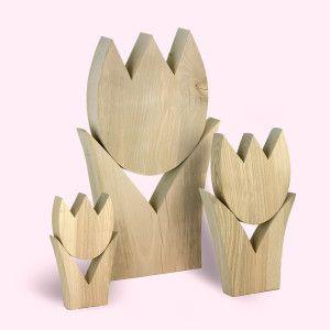 tulpen gruppe | holz | pinterest, Moderne