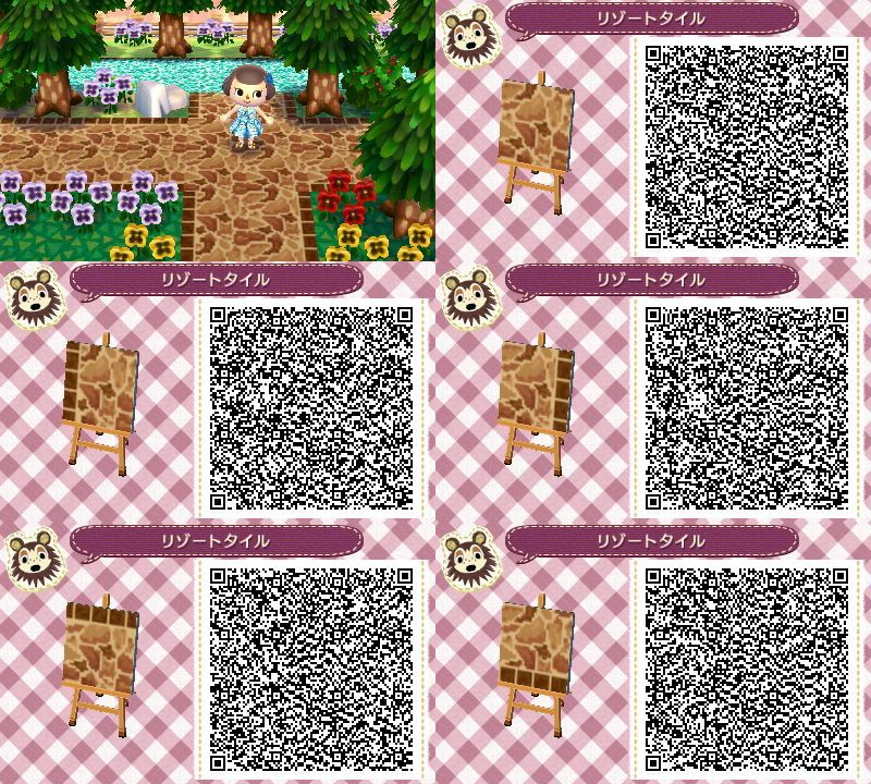 P Path QR Codes For Animal Crossing New Leaf Animal Crossing Stunning Animal Crossing New Leaf Patterns