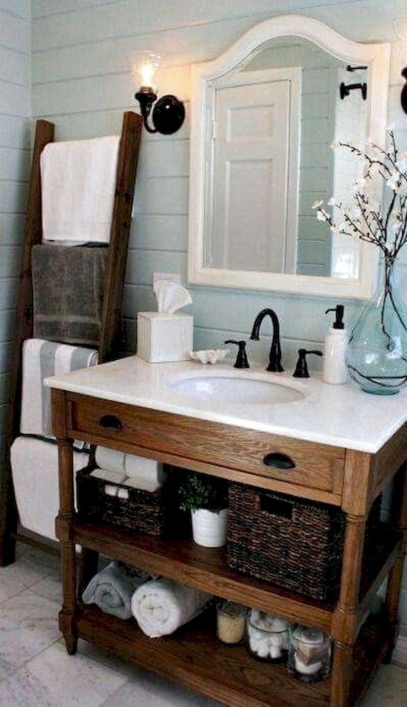 99 Best Farmhouse Bathroom Remodel
