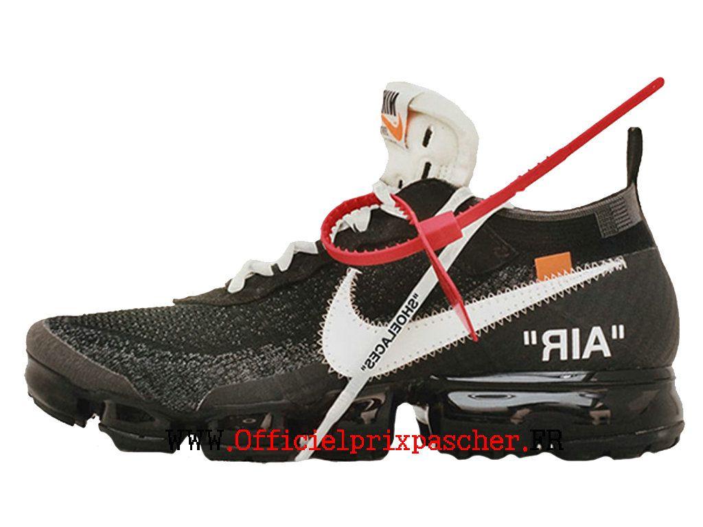 san francisco 20bda 0b111 Coussin Dair Classique Off-White X Nike Air VaporMax Prix Chaussure de  BasketBall Pas Homme Blanc noir AA3831-001