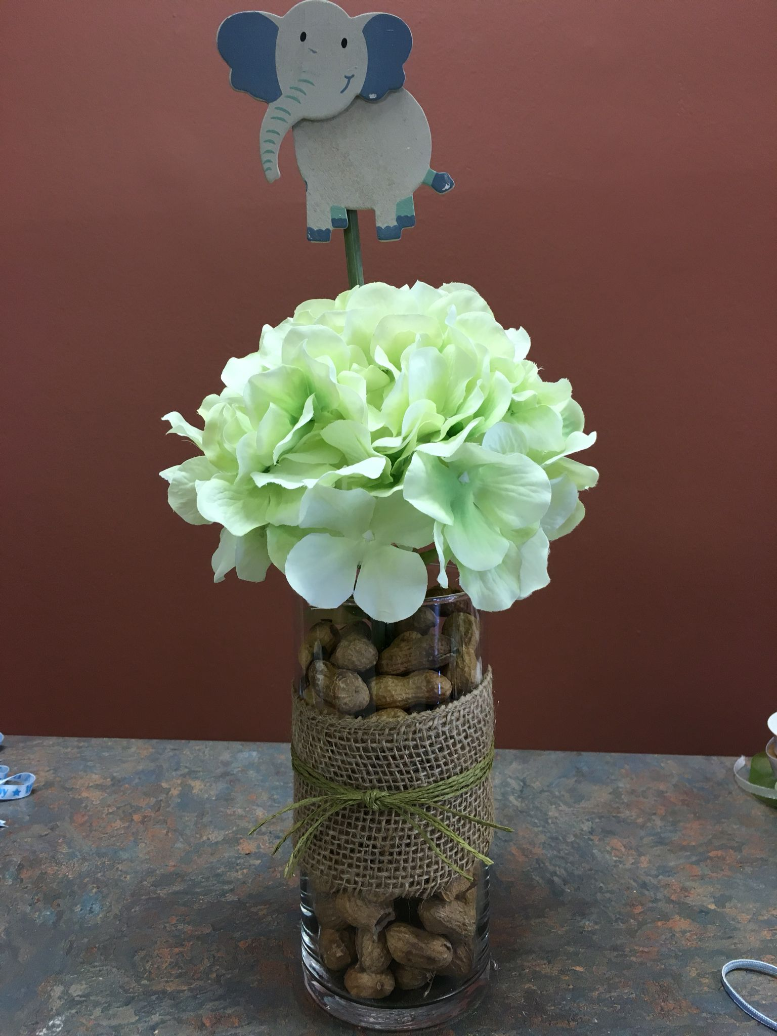 Baby Shower Elephant Theme Centerpieces