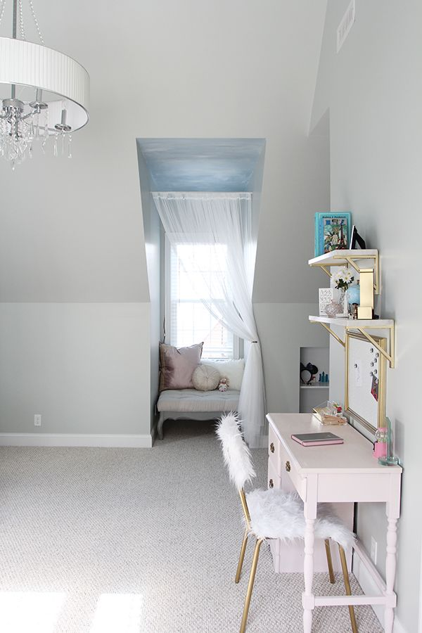 Lola S Room Makeover The One Room Challenge Reveal Room Makeover Bedroom Nook Colonial House Interior Lola almost finished new room