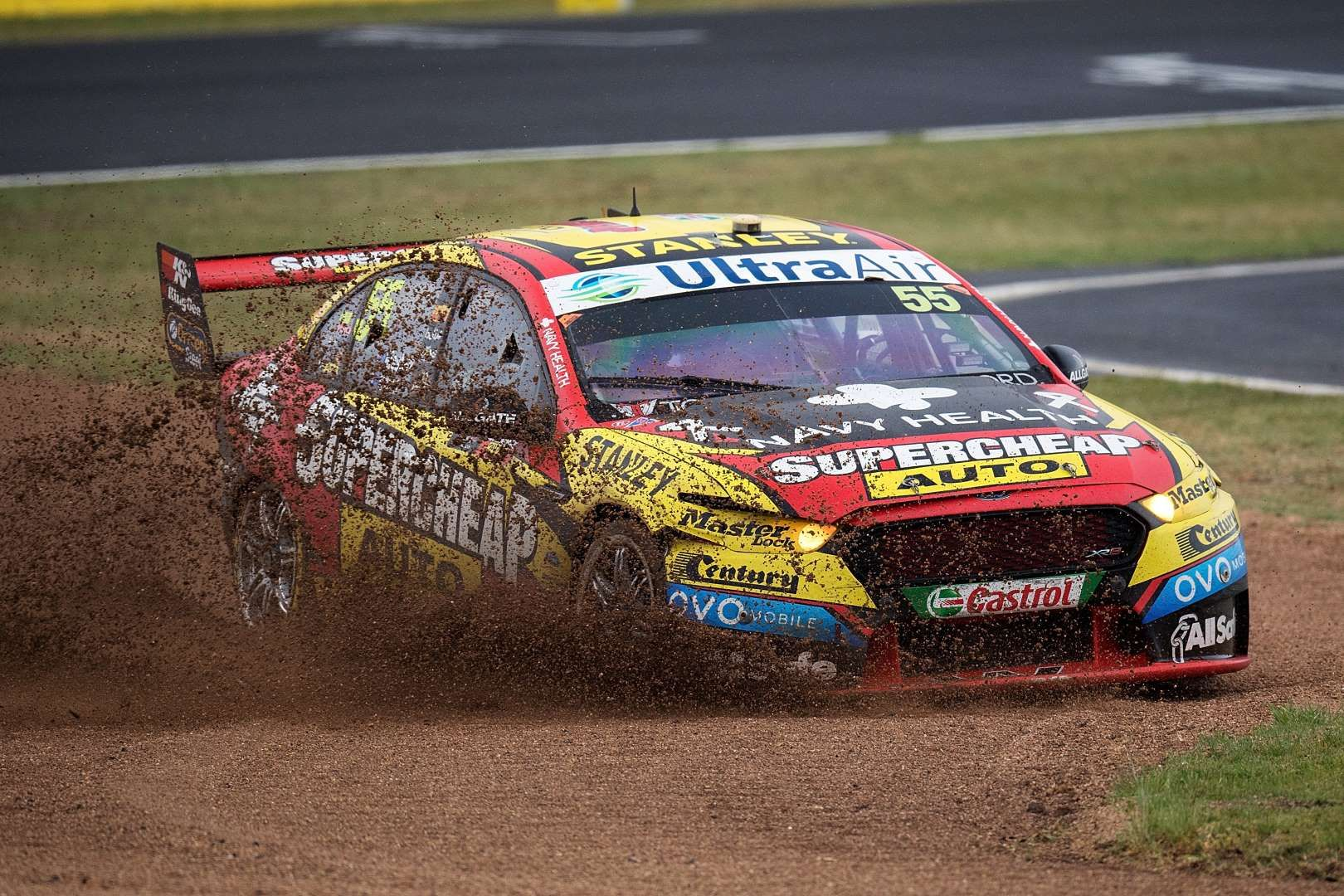 Chaz Mostert Drives The 55 Supercheap Auto Racing Ford Falcon Fgx During Bathurst 1000 Which Is Pa Daniel Kalisz Getty Images Sports Photos Photo Sports