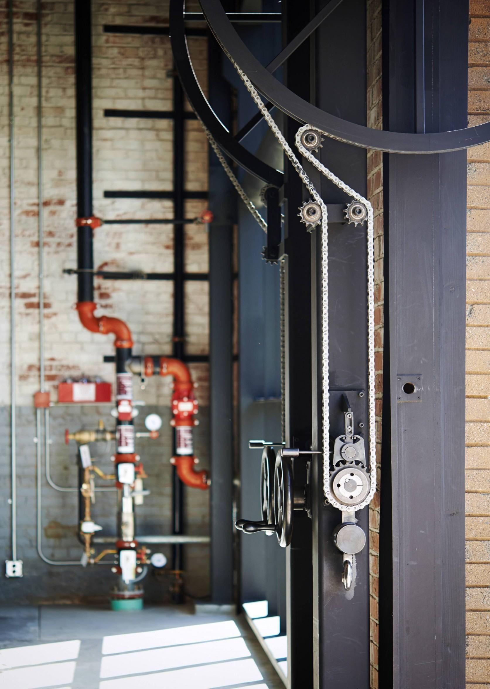 Olson Kundig Industrial Decor Wine Tasting Room Industrial Interior Loft