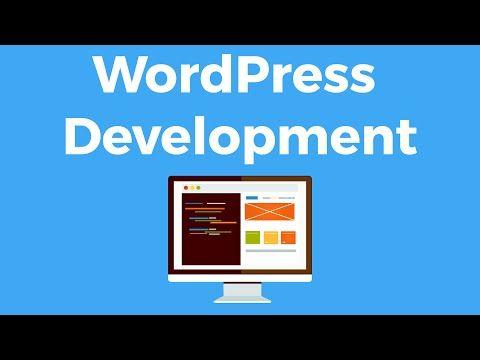 WordPress Development - Create WordPress Themes and Plugins Tutorial ...