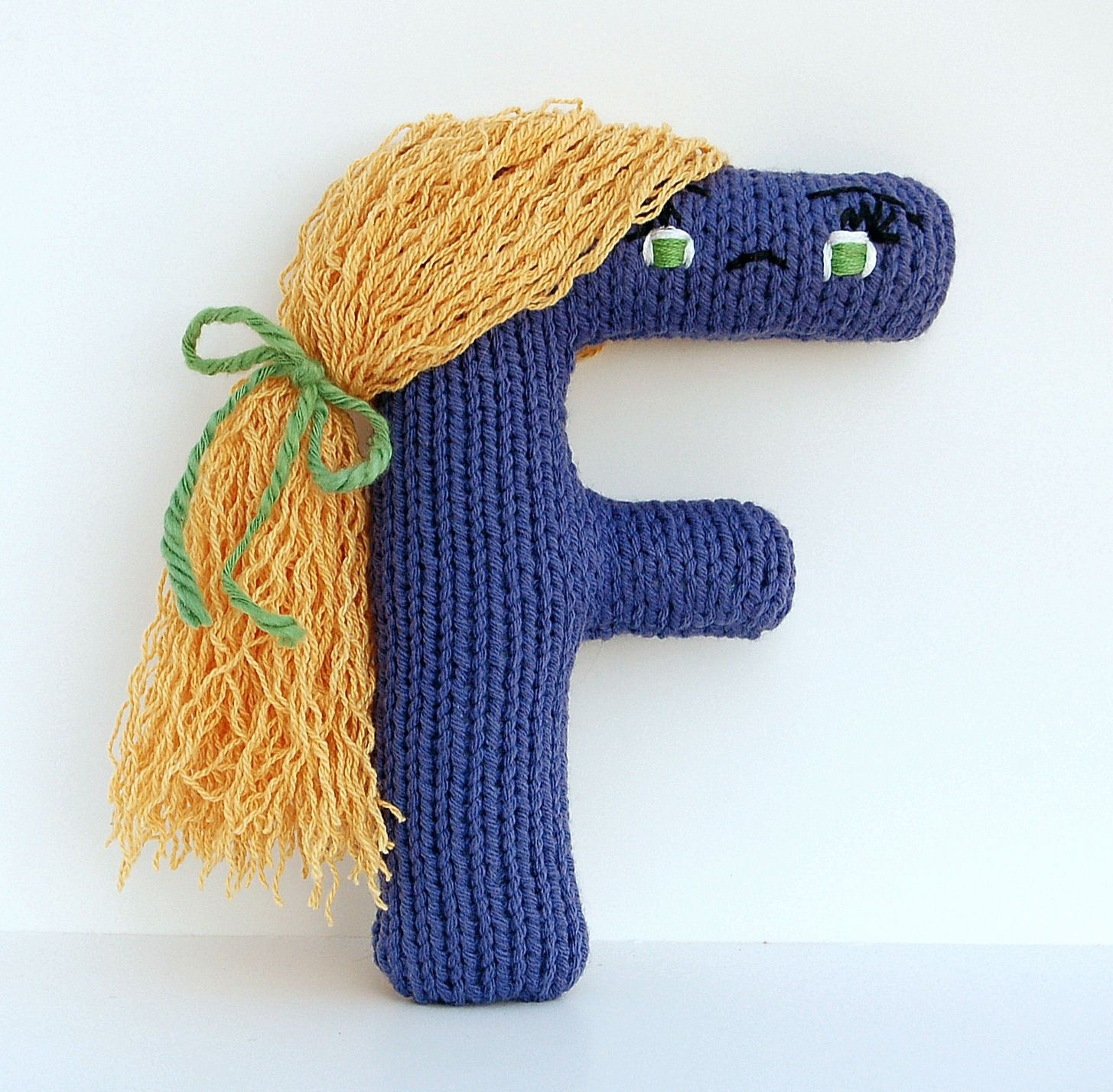 Knitting Pattern For Alphabet Letters Choice Image Craft Pattern