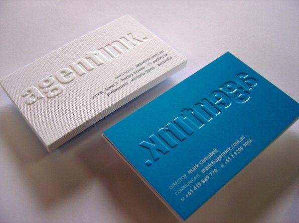 Taylord Press Taylord Press Embossed Business Cards Business Card Inspiration Cool Business Cards