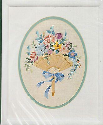 Fanfare Elsa Williams Crewel Embroidery Kit Michael Leclair Floral