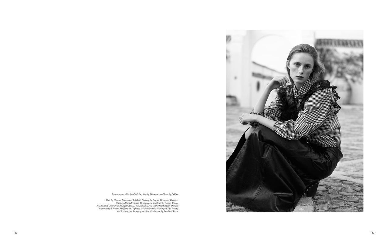 Rianne van Rompaey by Karim Sadli for Holiday Magazine SS 2016