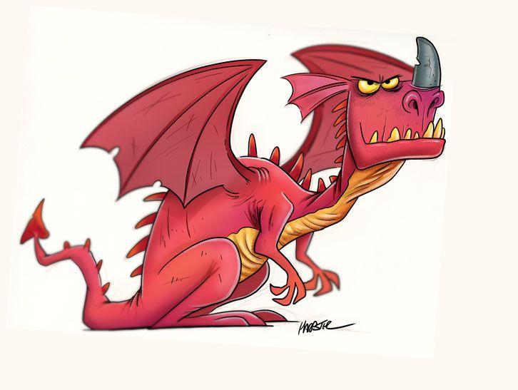 Dragon art by Steve Harpster