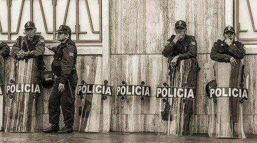 #lima #peru #policias