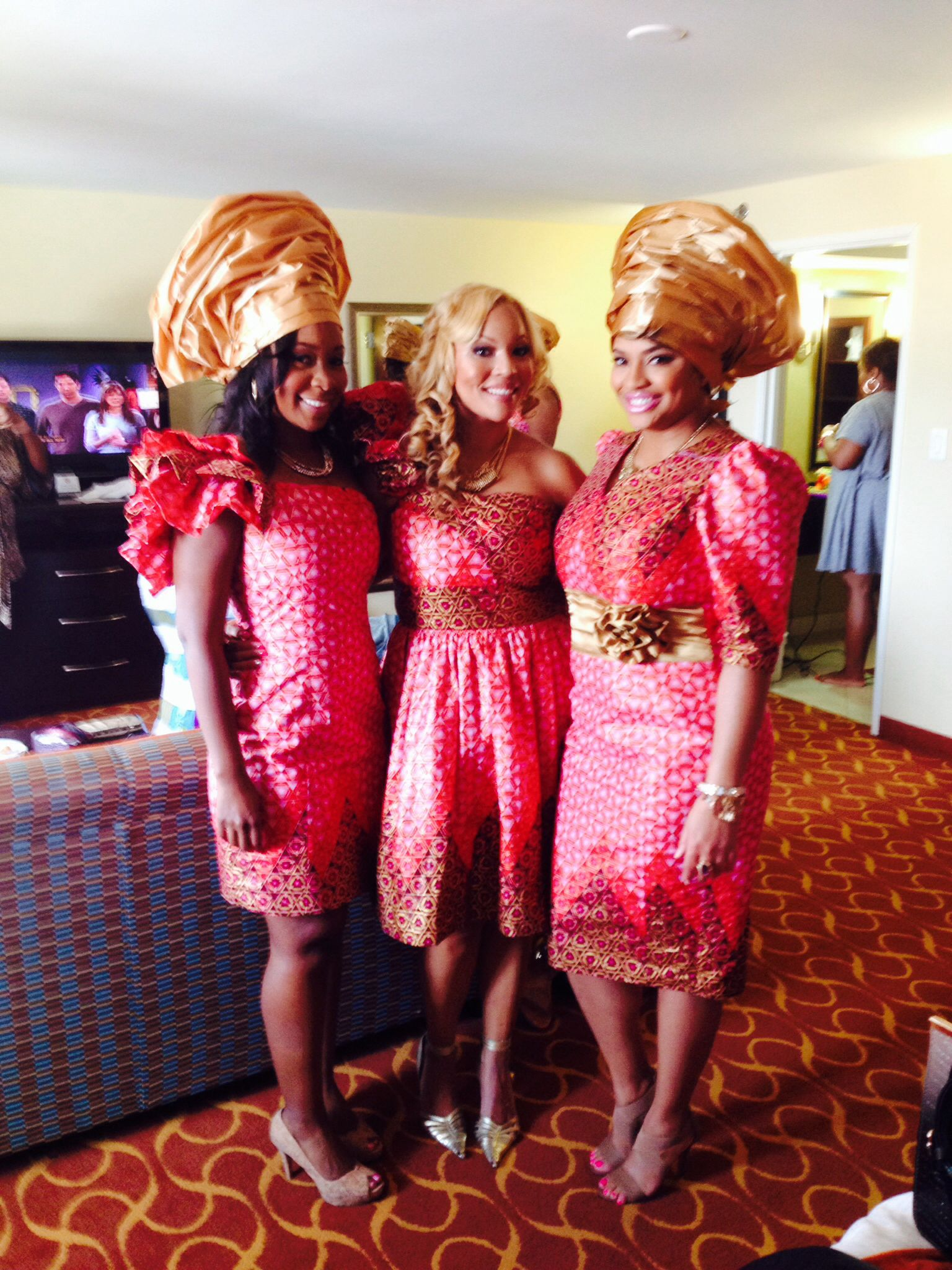 Best Ghana/Nigerian engagement ceremony ever! | African bridesmaids ...