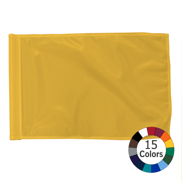 Solid Color Golf Flag Dye Polyester Fabric Color Golf Flag
