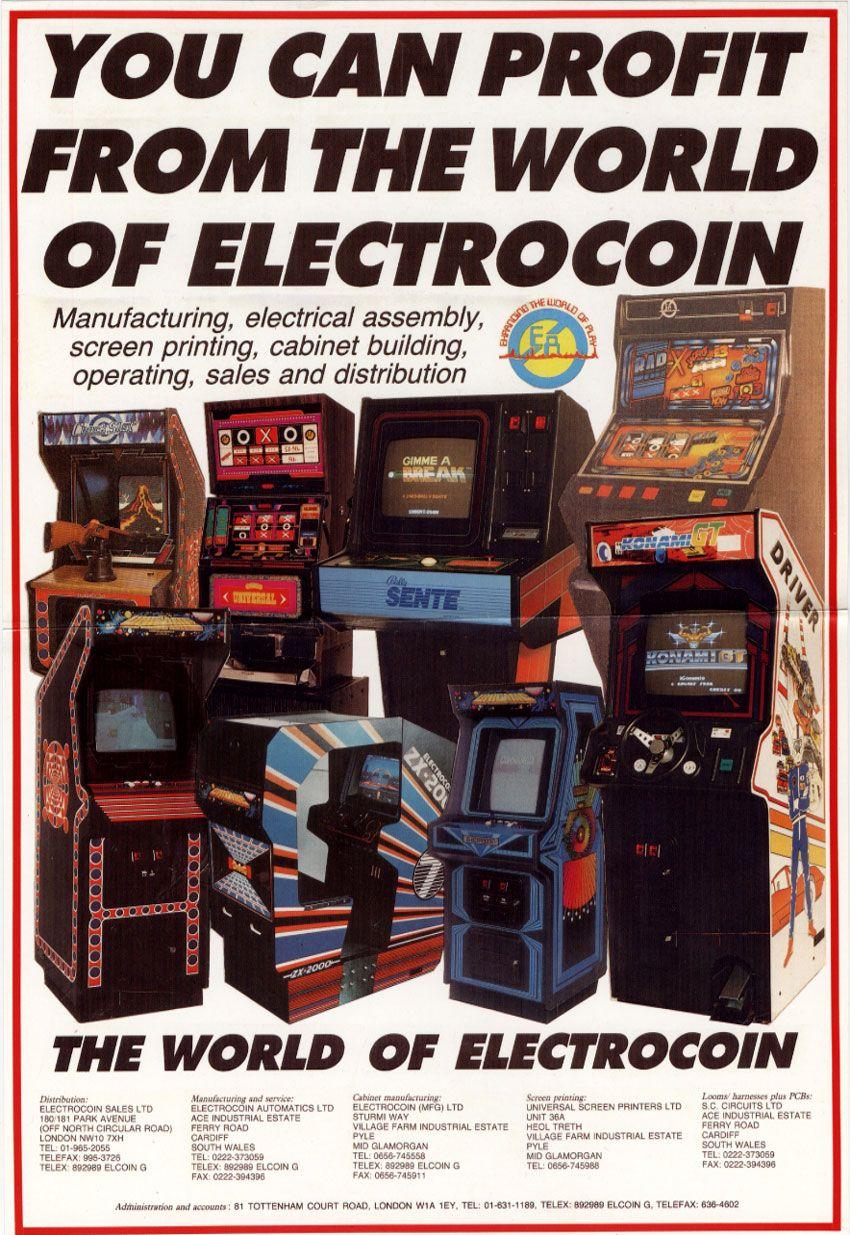 Electrocoin Flyer Poster