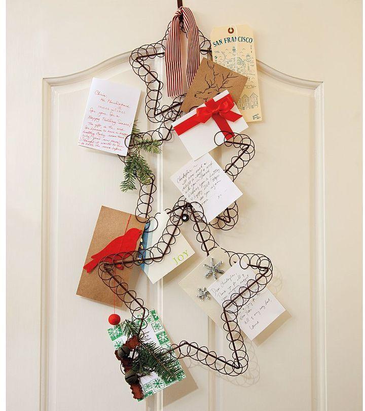 Potterybarn Star Holiday Card Holder | Holidays | Christmas, Holiday ...