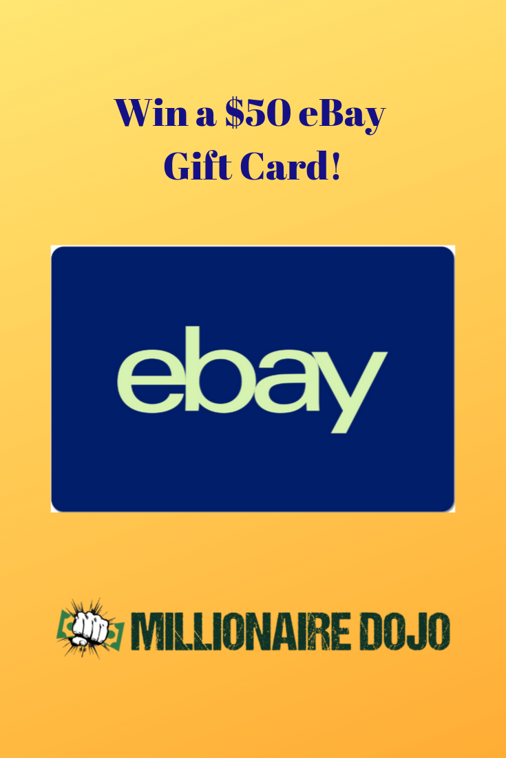 Enter For Your Chance To Win A 50 Ebay Gift Card And A Year Subscription To Easy Auctions Tracker In 2020 Ebay Gift Win Gift Card Personal Finance Blogs
