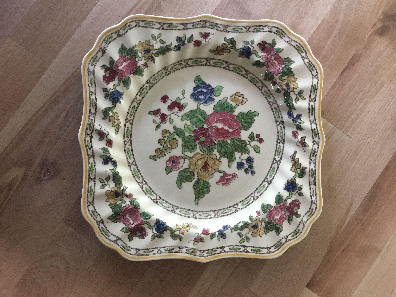 Vintage Royal Doulton Cavendish Square Luncheon plates
