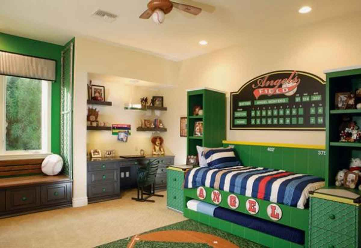Kids design, Cool Boys Room Paint Ideas For Colorful And Brilliant ...