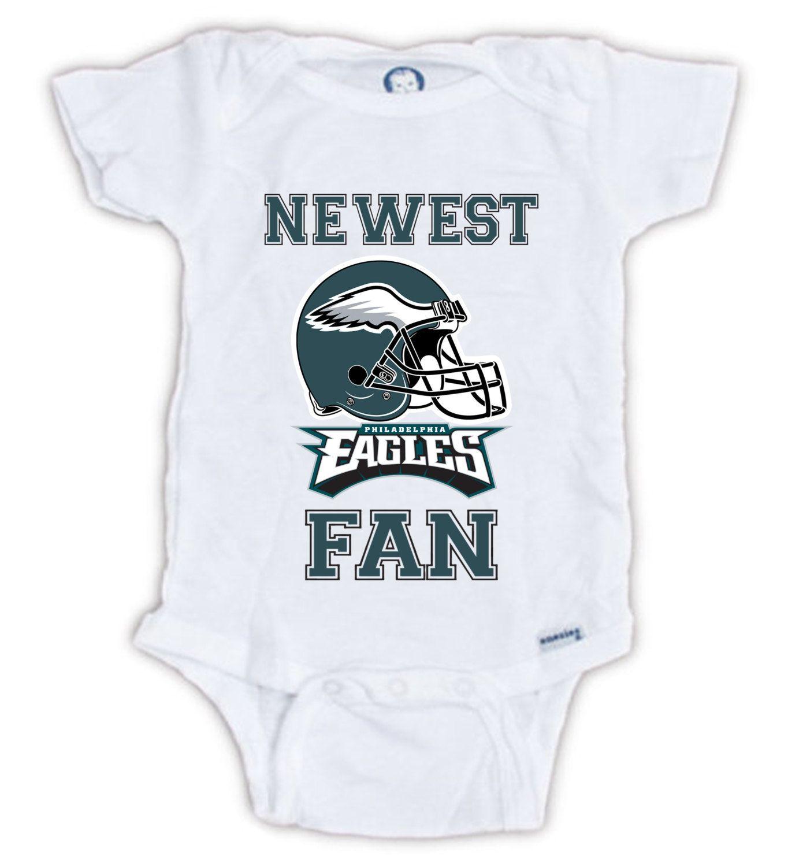 Baby bodysuit Newest fan Denver Broncos football One Piece jersey personalized